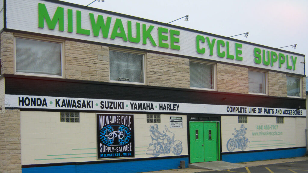 Milwaukee Cycle Storefront